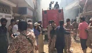 سقوط هواپیما پاکستان کراچی
