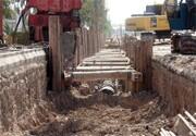 عملیات توسعه شبکهی جمع آوری فاضلاب شهر اسدآباد در حال اجراست