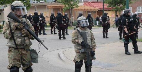 گارد ملی آمریکا مینیا پولیس