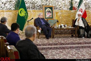 دیدار وزیر بهداشت با تولیت آستان قدس رضوی