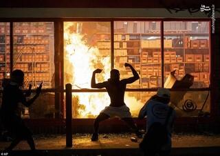 مینیا پولیس مینیا پلیس آمریکا درگیری شورش