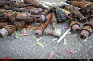 معدوم سازی ٣۵٠٠ قلیان در مشهد