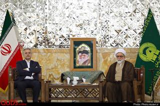 دیدار وزیر جهاد کشاورزی با تولیت آستان قدس رضوی