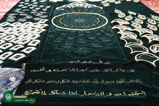 تولید پوش سنگ مضجع مطهر حضرت رضا(ع)