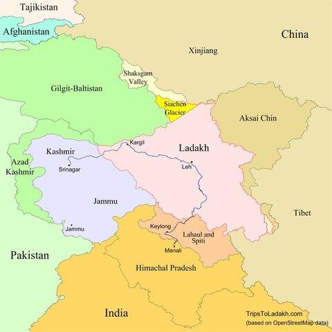 چین هند