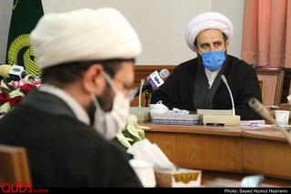 نشست خبری قائم مقام تولیت آستان قدس