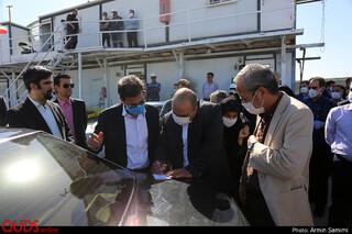 ادامه عملیات حفاری خط 3 قطار شهری مشهد