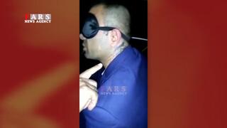 لحظه دستگیری وحید خزایی در فرودگاه