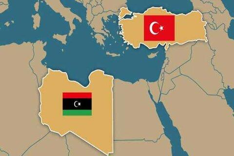 ترکیه و لیبی