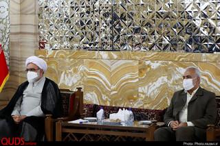 معارفه مدیرعالی حرم مطهر و رئیس دفتر تولیت آستان قدس رضوی
