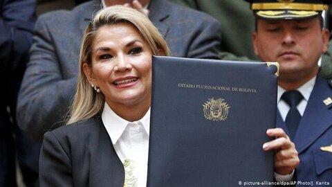 جینین آنییس، رئیس جمهوری بولیوی