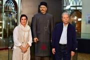 تندیس علی نصیریان در موزه سینما رونمایی شد