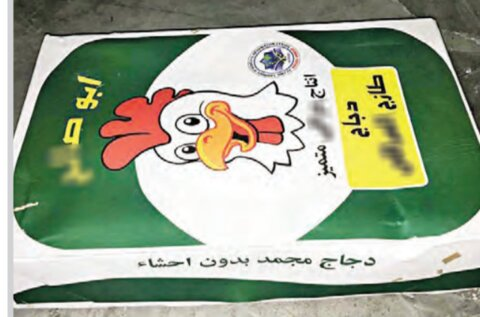 مرغ عربی