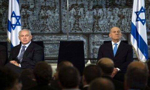 اولمرت نتانیاهو