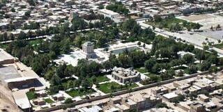 عکس هوایی از آرامگاه فردوسی و توس