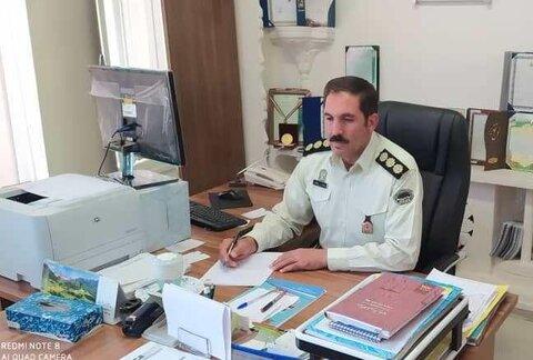 فرمانده یگان حفاظت از اراضی اداره کل راه و شهرسازی استان همدان