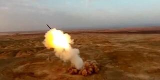 موشک های مدفون سپاه