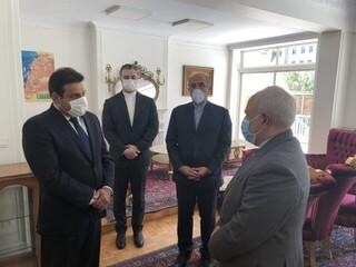 ظریف در سفارت لبنان