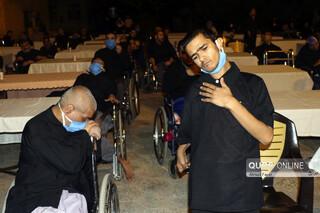 عزاداری دهه اول محرم در آسایشگاه معلولان شهید فیاض بخش مشهد