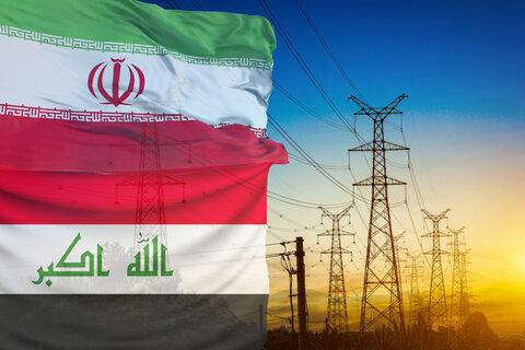 صادرات برق به عراق