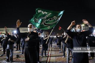 عزاداری دهه اول محرم در میدان شهدا