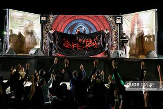 عزاداری دهه اول محرم در کوه پارک مشهد