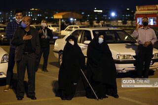 عزاداری دهه اول محرم در بازار خودرو مشهد