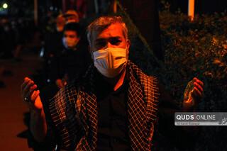 عزاداری دهه اول محرم در موسسه جوانان آستان قدس رضوی