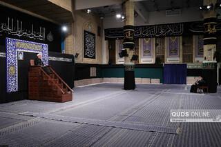 عزاداری شب تاسوعا در حسینیه امام خمینی (ره)