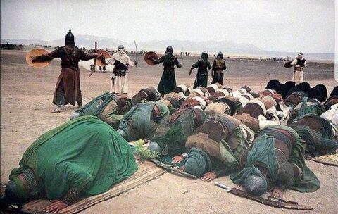 ظهر عاشورا نماز عاشورا