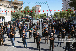 عزاداری تاسوعای حسینی در مشهد