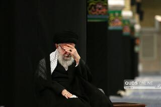 عزاداری شب عاشورای حسینی در حسینیه امام خمینی(ره)