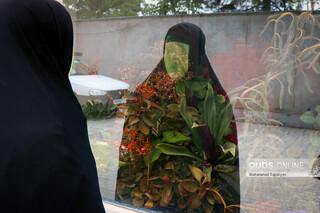 خیمه سوزان غروب روز عاشورا