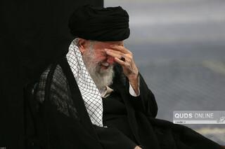 مراسم عزاداری شام غریبان حسینی (علیهالسلام) در حسینیه امام(ره)