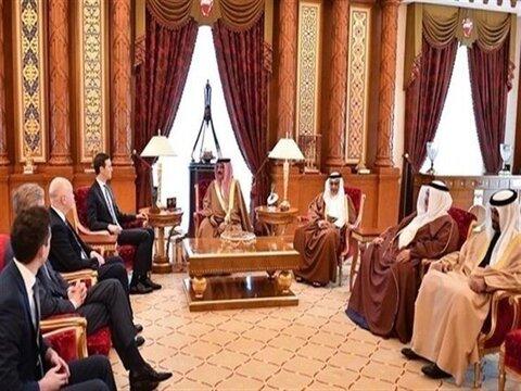 کوشنر و پادشاه بحرین