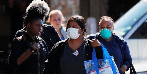 ماسک کرونا سیاهپوست آمریکا