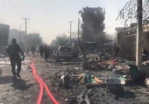 حمله انتحاری به کاروان معاون اول رئیسجمهور افغانستان