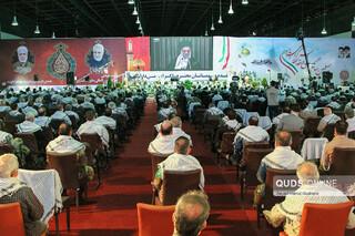 آیین افتتاحیه نمایشگاه دستاوردهای استانی دفاع مقدس