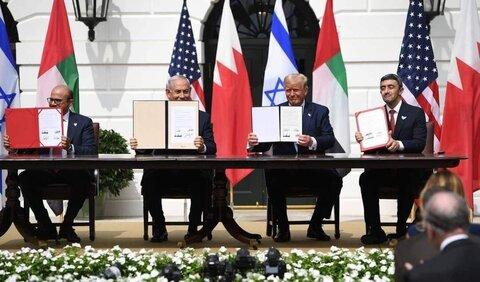 عادی سازی روابط امارات و بحرین با اسرائیل