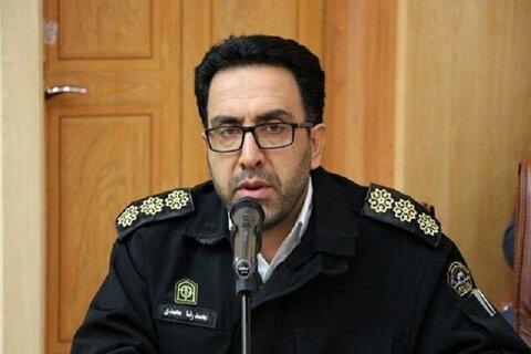 رئیس پلیس راهور اصفهان
