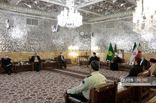 جلسه مجمع مشورتی آستان قدس رضوی