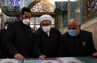 استقبال تولیت آستان قدس رضوی از شهدای تازه تفحص شده