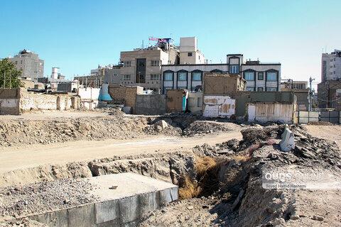 تخریب مسجد«هفت در» مشهد