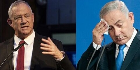 نتانیاهو و گانتس