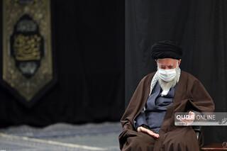 مراسم عزاداری شهادت امام رضا(ع) در حضور رهبر انقلاب