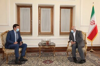 ظریف و معاون وزیر خارجه اوکراین