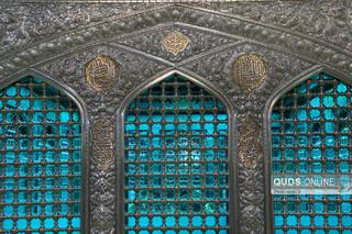 نورپردازی جدید روضه منوره امام رضا علیه السلام