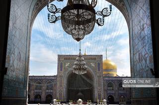 هنر معماری اسلامی در حرم مطهر رضوی - مسجد جامع گوهرشاد