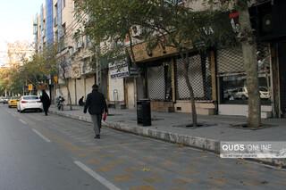 مشهد؛ اولین روز محدودیت های کرونایی اصناف
