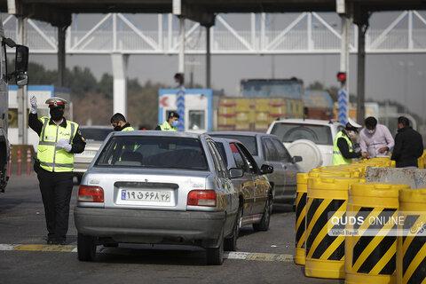 منع تردد و جریمه خودروهای غیر بومی در ورودی شهر مشهد